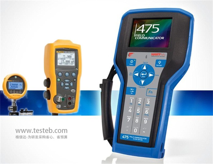 校验仪和hart475手操器