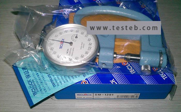 得乐Teclock厚度计/测厚规Teclock-SM-1201