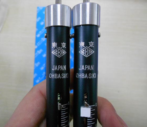 OHBA SIKI大场OBA弹簧秤/拉力棒oba-1000g