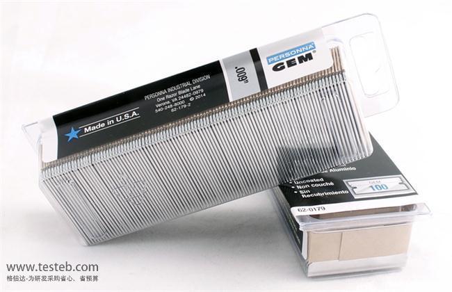 美国GEM 62-0179单面刀片
