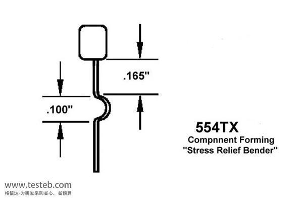 瑞士Erem元件引脚成型钳554TX