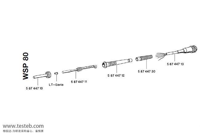 威乐Weller焊台T0058744711