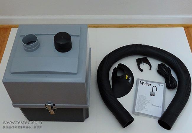 威乐Weller空气净化器吸烟仪ZeroSmogTL