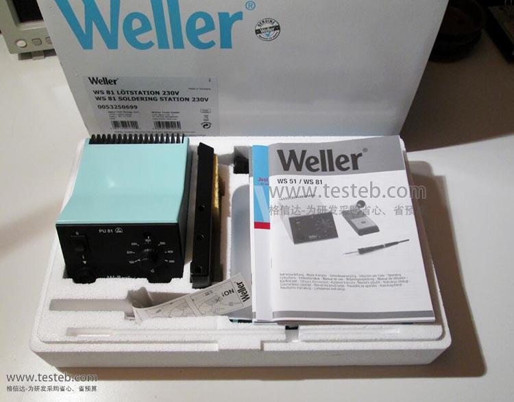 威乐Weller焊台WS81