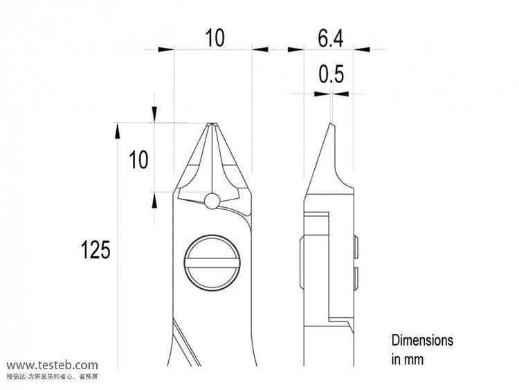 瑞士Ideal-Tek钳子剪钳E5542