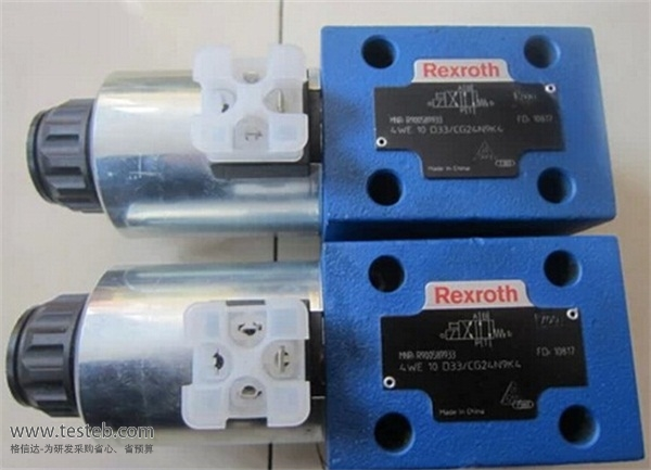 博世力士乐Rexroth电磁阀4we10d33