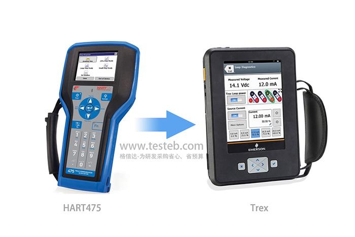 hart475手操器升级trex通讯器