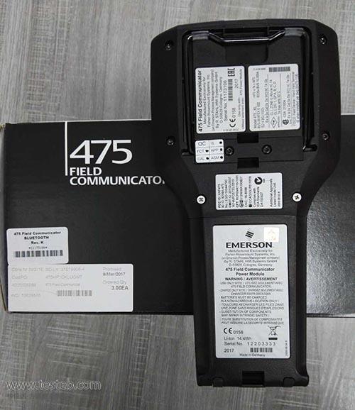 Emerson艾默生罗斯蒙特HART475手操器475HP1ENA9GMTAS