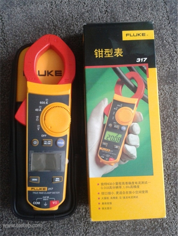 福禄克Fluke钳形电流表/钳型表fluke317