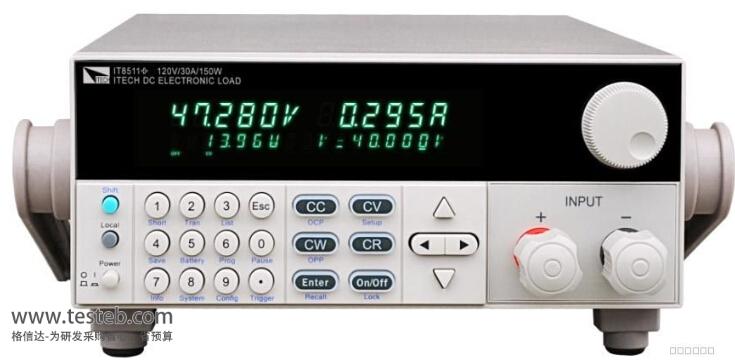 艾德克斯ITECH直流电子负载it8511