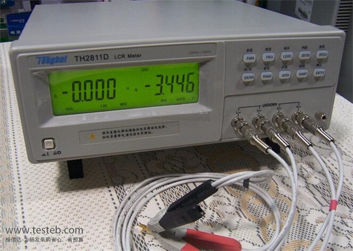 同惠lcr测试仪