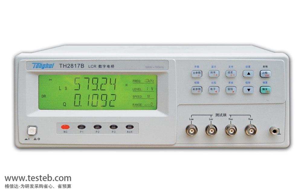 同惠TonghuiLCR测试仪/电桥表TH2817B