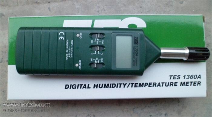 泰仕TES温度计/探头TES-1360A