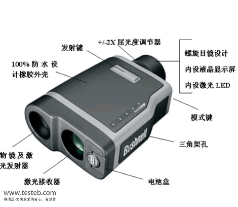 博士能Bushnell手持式激光测距仪ELITE1500