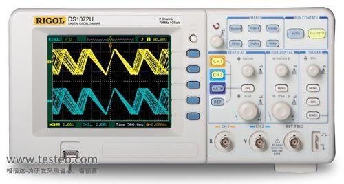 普源RIGOL示波器与探头DS1072U