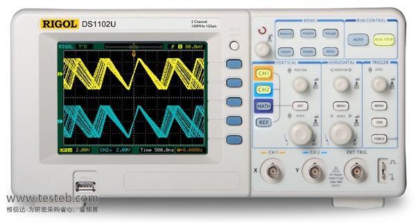 普源RIGOL示波器与探头DS1102U