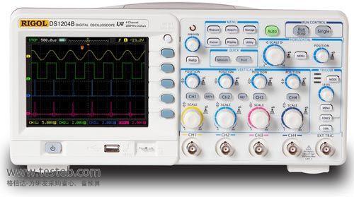 普源RIGOL示波器与探头DS1204B