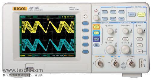 普源RIGOL示波器与探头DS1102E