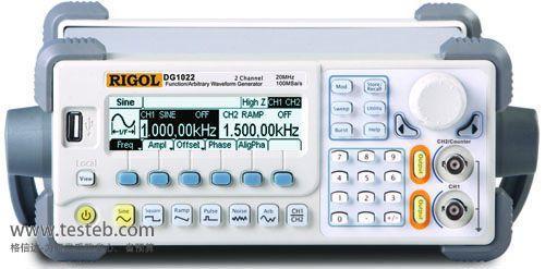 普源RIGOL信号发生器/信号源DG1022U