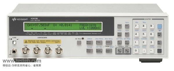 是德科技 安捷伦AgilentLCR测试仪/电桥表agilent-4263b