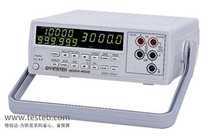 固纬GWINSTEK内阻/欧姆电阻计gom802