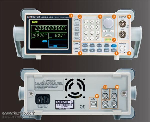 固纬GWINSTEK信号发生器/信号源afg-2125