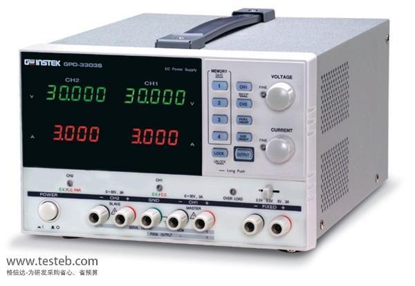 固纬GWINSTEK仪用电源GPD-3303S