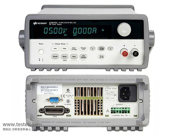 是德科技 安捷伦Agilent仪用电源E3644A