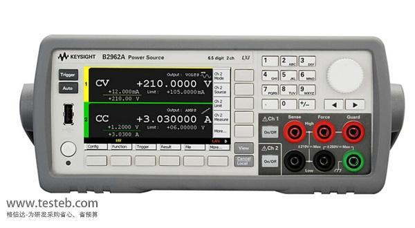 是德科技 安捷伦Agilent仪用电源B2961A-B2962A