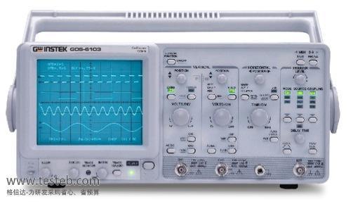 固纬GWINSTEK示波器与探头GOS-6103C