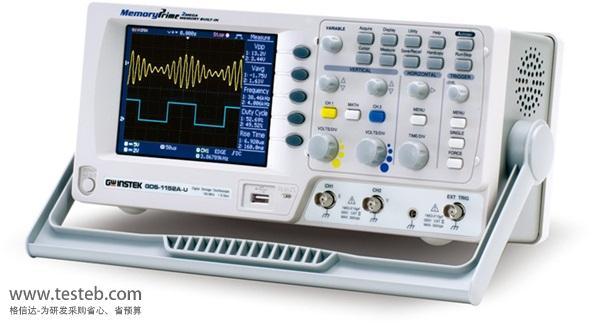 固纬GWINSTEK示波器与探头GDS-1102A-U