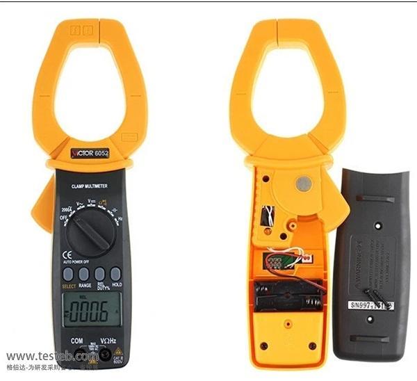 胜利仪器钳形电流表/钳型表vc6052