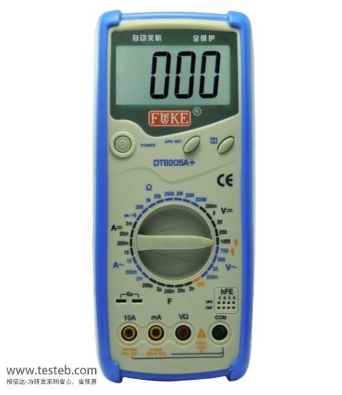 国产万用表dt9205a数字万用表dt9205电工万能表