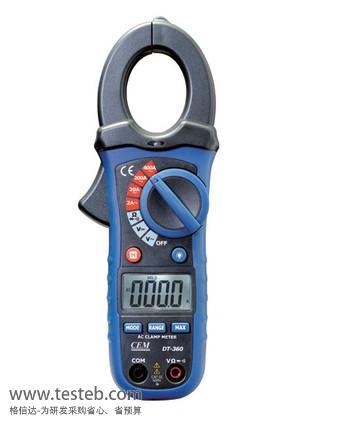华盛昌CEM钳形电流表/钳型表DT-360