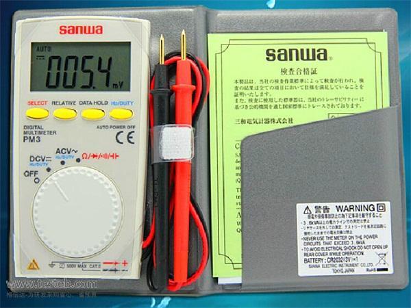 三和sanwa数字万用表sanwa-PM3
