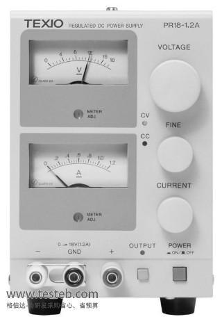 德士Texio健伍仪用电源PR18-1-2A