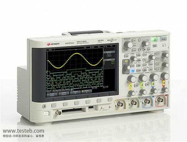 是德科技 安捷伦Agilent示波器与探头DSOX2024A