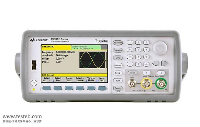 是德科技 安捷伦Agilent信号发生器/信号源33512B