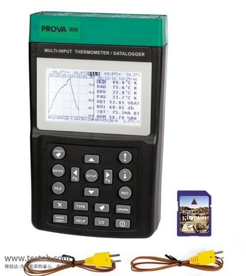 泰仕TES数据采集器/温度记录仪PROVA800