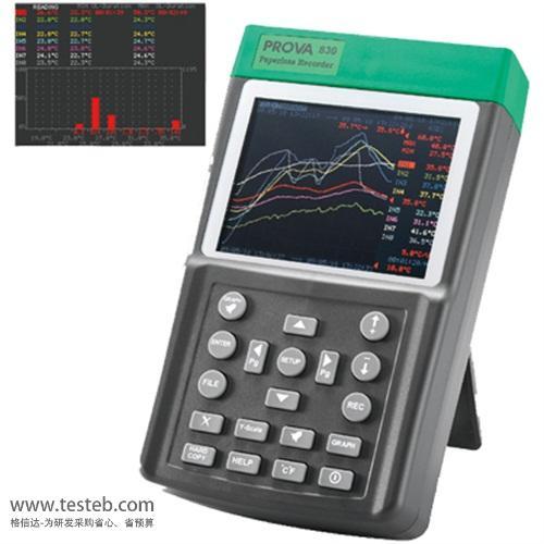 泰仕TES PROVA800数据采集器/温度记录仪