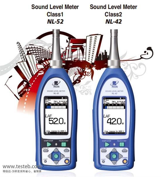 理音RION噪音计/声级计NL-42