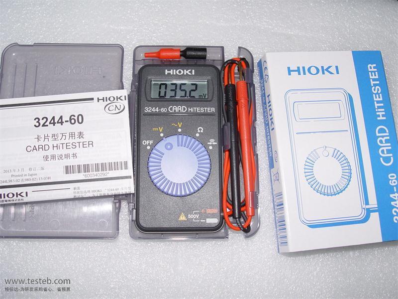 日置HIOKI数字万用表hioki3244-60