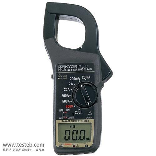 共立KYORITSU钳形电流表/钳型表MODEL2412