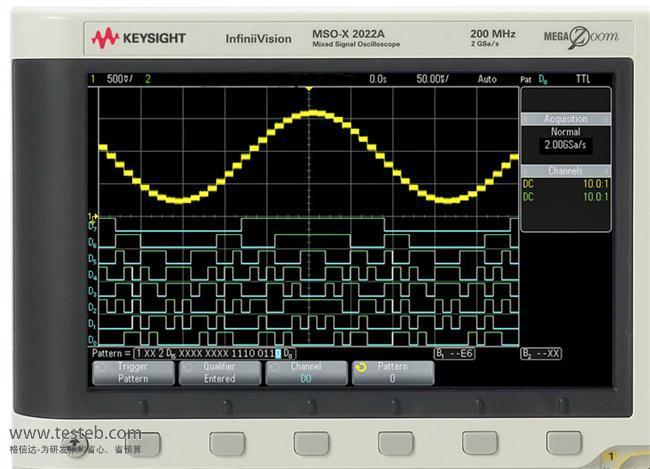 是德科技 安捷伦Agilent示波器与探头MSOX2022A