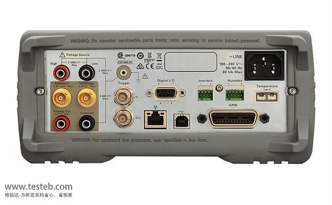 是德科技 安捷伦Agilent内阻/欧姆电阻计B2987A