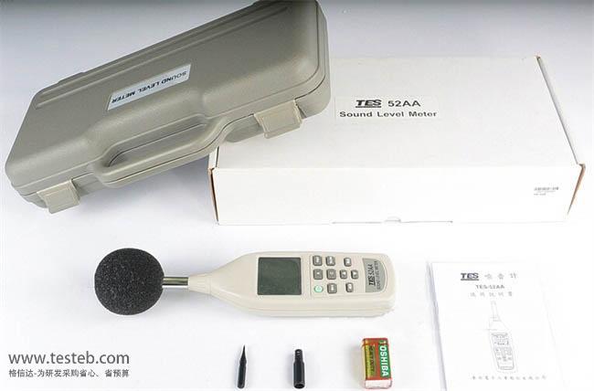 泰仕TES噪音计/声级计TES-52