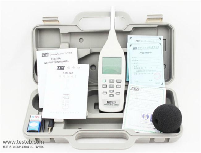泰仕TES噪音计/声级计TES52A