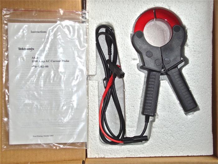 泰克Tektronix示波器与探头A621