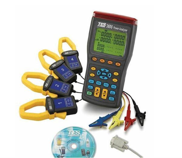 泰仕TES电能质量分析仪TES-3600
