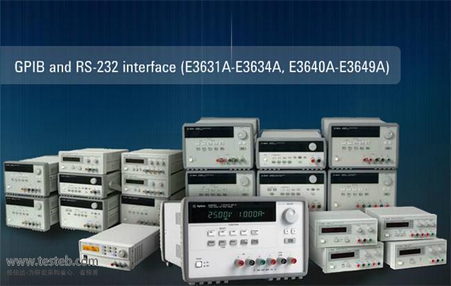 是德科技 安捷伦Agilent仪用电源E3631A